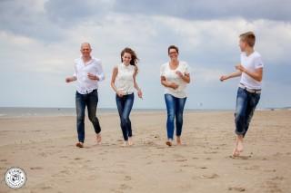 Familie Oorschot | Strand | Rockanje| FotoKadoBon