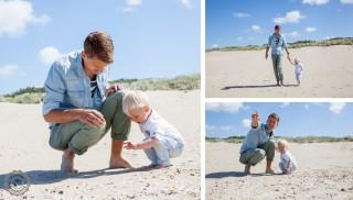 Happy Family | familie Husen | strand Rockanje