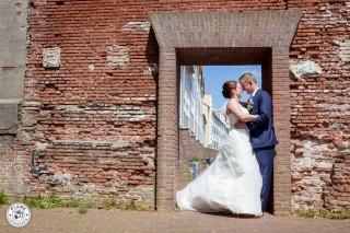 Bruidspaar Kos | mei 2015 | Hellevoetsluis | Partyfarm Steenbeek