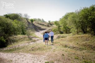 Happy Family fotoreportage | Familie Van den Berg | strand en duinen van Rockanje