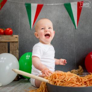 Spaghettismash | Guus 1 jaar ! | Studio Flaire