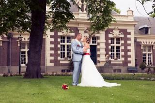 bruidspaar Brielle trouwen