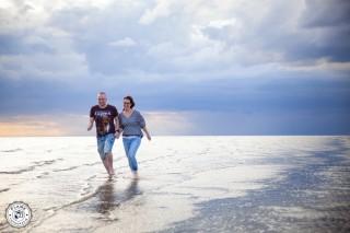Loveshoot | Bernt en Nicolien | strand Rockanje
