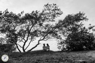Loveshoot | Patrick en Desiree | duinen en strand Rockanje