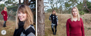 Zussenshoot | Veronique en Dénise | Duinen van Oostvoorne